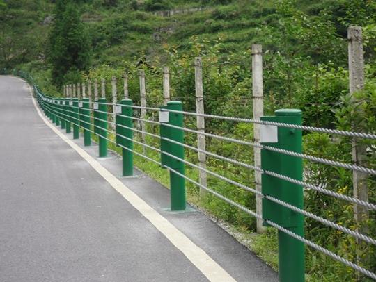 西藏揽绳护栏