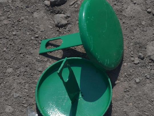 波形护栏柱帽