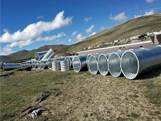 西藏钢波纹管公司