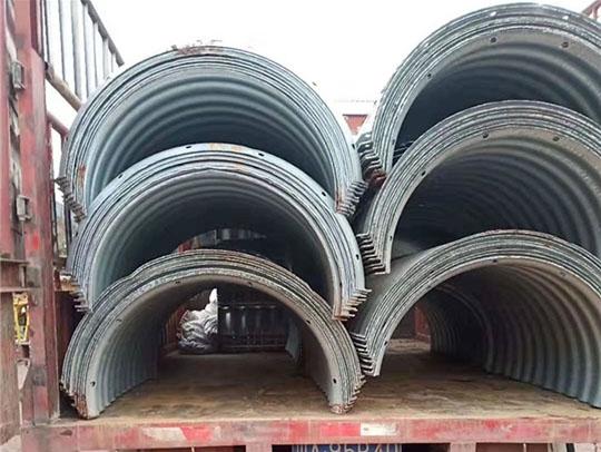 西藏拼接锌基钢波纹管厂家