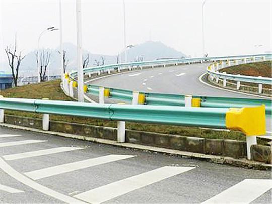 公路喷塑波形护栏